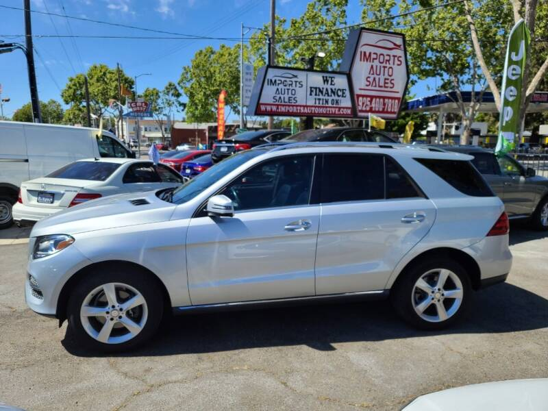 2017 Mercedes-Benz GLE for sale at Imports Auto Sales & Service in San Leandro CA