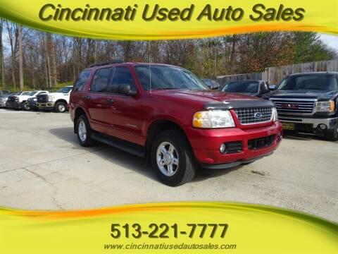 2005 Ford Explorer for sale at Cincinnati Used Auto Sales in Cincinnati OH