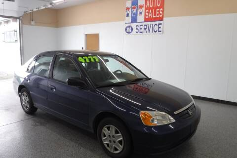 2003 Honda Civic for sale at 777 Auto Sales and Service in Tacoma WA