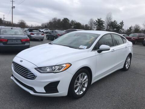 2019 Ford Fusion for sale at Scotty's Auto Sales, Inc. in Elkin NC
