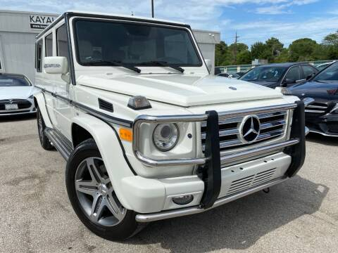 2011 Mercedes-Benz G-Class for sale at KAYALAR MOTORS in Houston TX