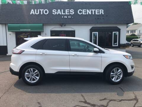 2017 Ford Edge for sale at Auto Sales Center Inc in Holyoke MA