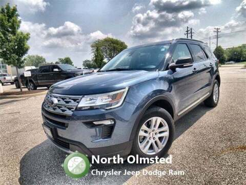 2019 Ford Explorer for sale at North Olmsted Chrysler Jeep Dodge Ram in North Olmsted OH