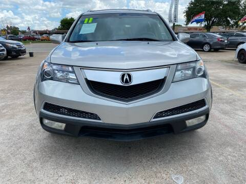 2011 Acura MDX for sale at SOUTHWAY MOTORS in Houston TX