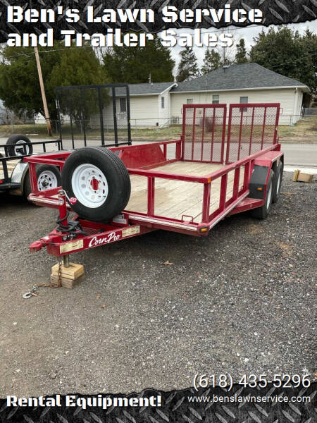 CornPro 14'UtilityTrailer7,000Lbs for sale at Ben's Lawn Service and Trailer Sales in Benton IL