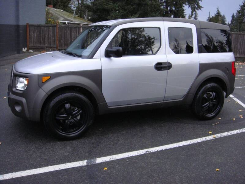 2003 Honda Element for sale at Western Auto Brokers in Lynnwood WA