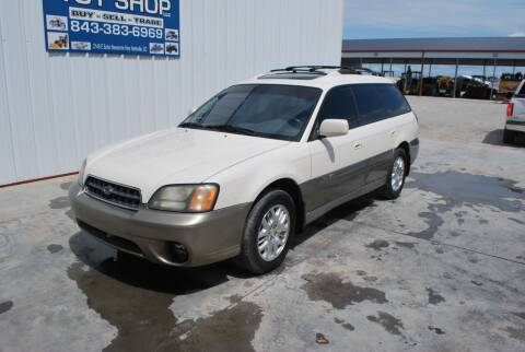 2004 Subaru Outback for sale at CAROLINA TOY SHOP LLC in Hartsville SC