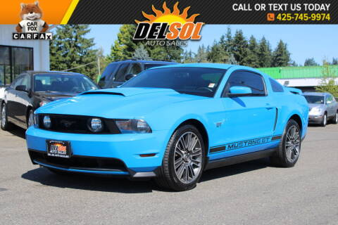 2010 Ford Mustang for sale at Del Sol Auto Sales in Everett WA