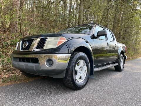 2005 Nissan Frontier for sale at Lenoir Auto in Lenoir NC