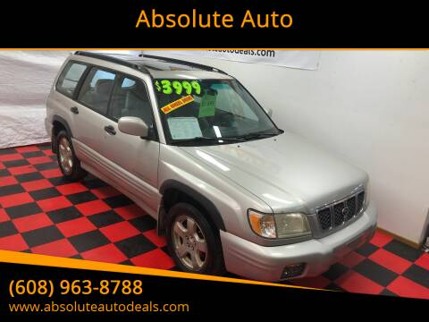 2001 Subaru Forester for sale at Absolute Auto in Baraboo WI