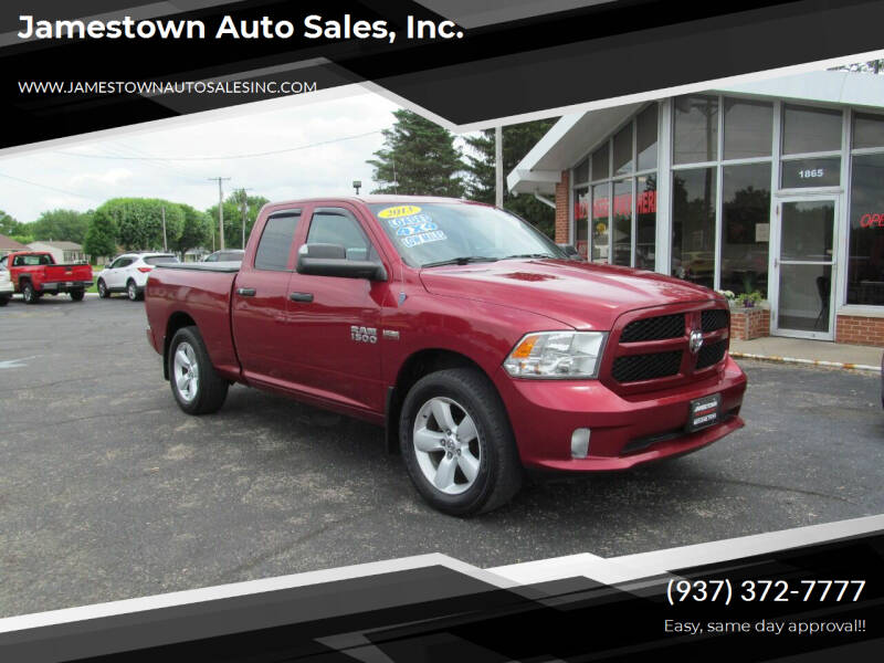 2013 RAM Ram Pickup 1500 for sale at Jamestown Auto Sales, Inc. in Xenia OH