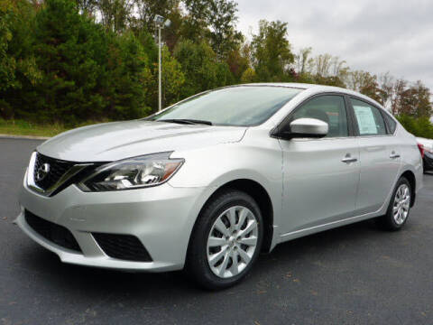 2019 Nissan Sentra for sale at RUSTY WALLACE KIA OF KNOXVILLE in Knoxville TN