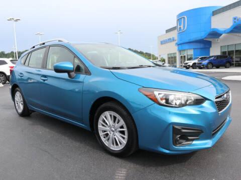 2018 Subaru Impreza for sale at RUSTY WALLACE HONDA in Knoxville TN