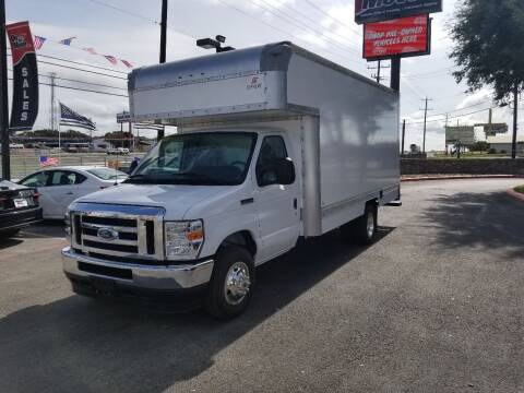 2021 Ford E-Series Chassis for sale at ON THE MOVE INC in Boerne TX