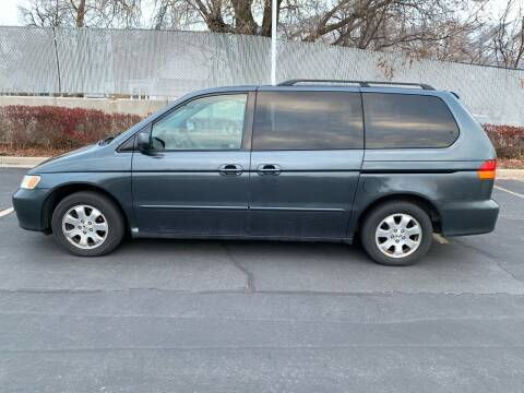 2003 Honda Odyssey for sale at BITTON'S AUTO SALES in Ogden UT