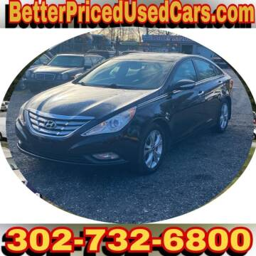 2012 Hyundai Sonata for sale at Better Priced Used Cars in Frankford DE