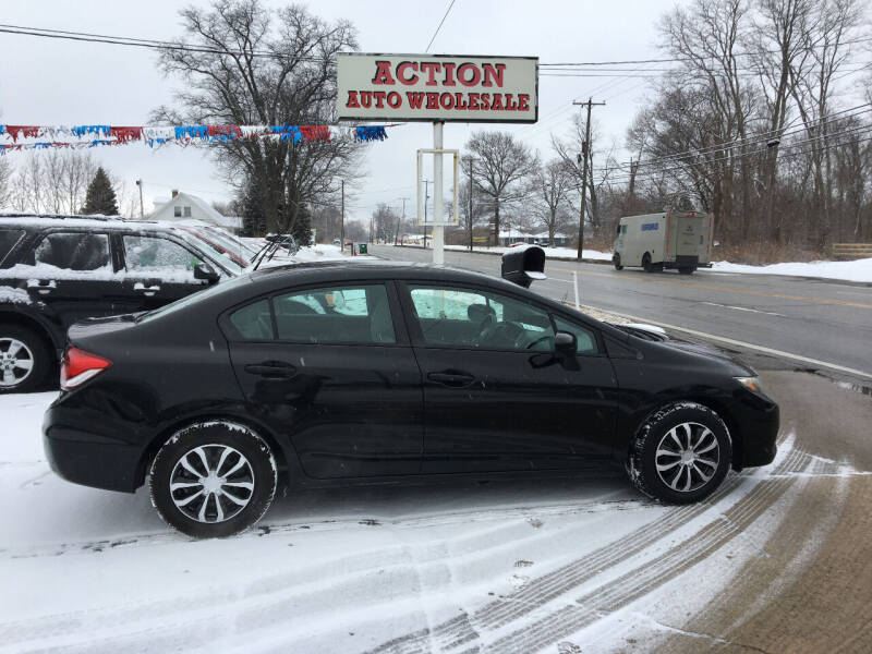 2014 Honda Civic for sale at Action Auto Wholesale in Painesville OH