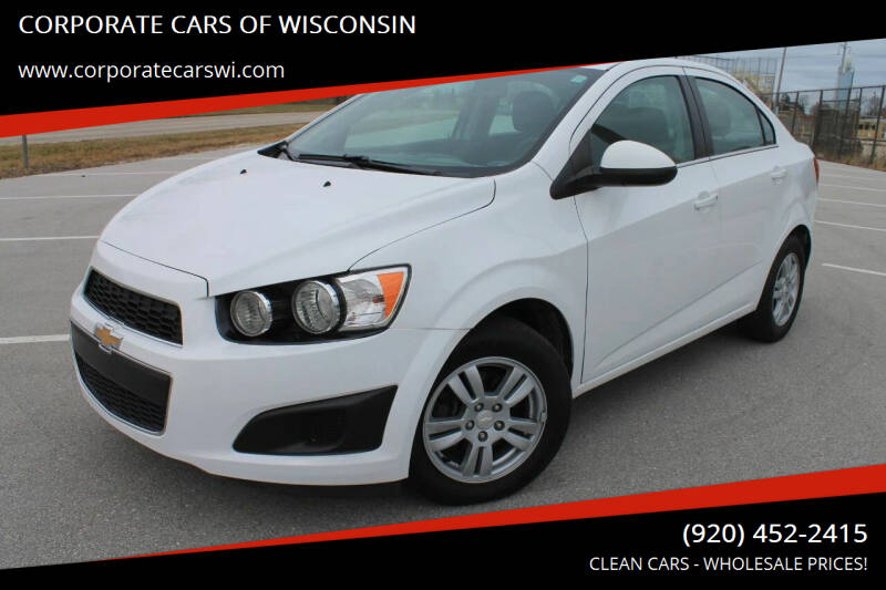 2014 Chevrolet Sonic for sale at CORPORATE CARS OF WISCONSIN - DAVES AUTO SALES OF SHEBOYGAN in Sheboygan WI