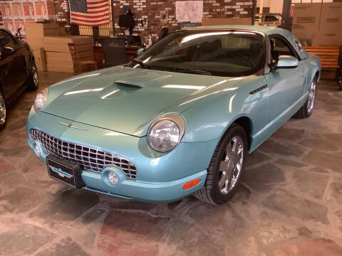 2002 Ford Thunderbird for sale at Motuzas Automotive Inc. in Upton MA