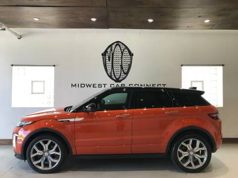 2017 Land Rover Range Rover Evoque for sale at Midwest Car Connect in Villa Park IL