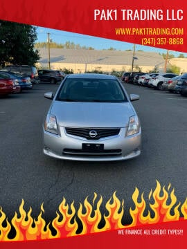 2012 Nissan Sentra for sale at Pak1 Trading LLC in South Hackensack NJ