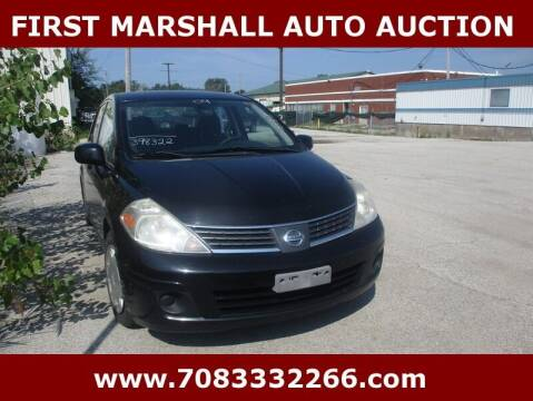 2009 Nissan Versa for sale at First Marshall Auto Auction in Harvey IL