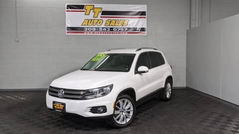 2012 Volkswagen Tiguan for sale at TT Auto Sales LLC. in Boise ID