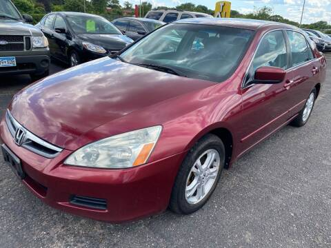 2006 Honda Accord for sale at Auto Tech Car Sales in Saint Paul MN
