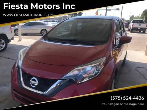 2018 Nissan Versa Note for sale at Fiesta Motors Inc in Las Cruces NM