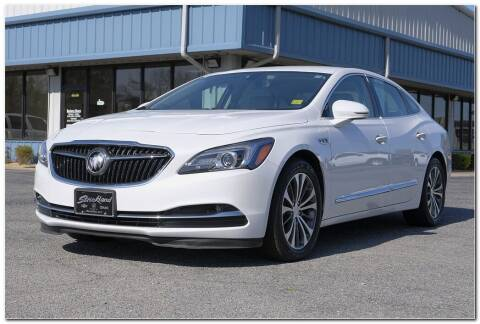 2017 Buick LaCrosse for sale at STRICKLAND AUTO GROUP INC in Ahoskie NC