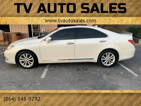 2011 Lexus ES 350 for sale at TV Auto Sales in Greer SC