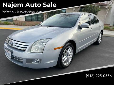 2006 Ford Fusion for sale at Najem Auto Sale in Sacramento CA
