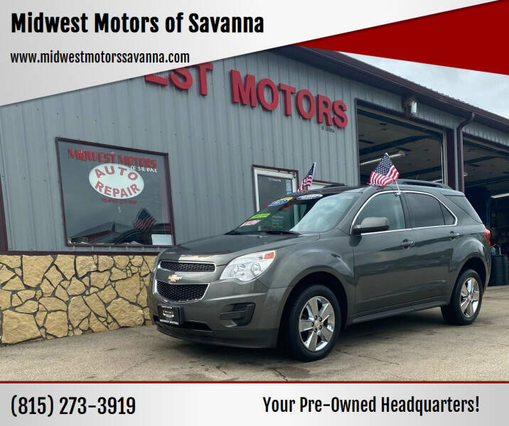 2013 Chevrolet Equinox for sale at Midwest Motors of Savanna in Savanna IL