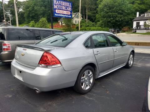 2013 Chevrolet Impala for sale at 125 Auto Finance in Haverhill MA