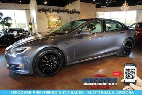2017 Tesla Model S for sale at Discover Pre-Owned Auto Sales in Scottsdale AZ