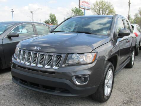 2015 Jeep Compass for sale at Express Auto Sales in Lexington KY