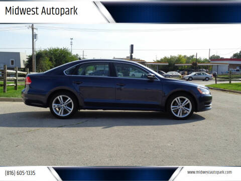 2014 Volkswagen Passat for sale at Midwest Autopark in Kansas City MO