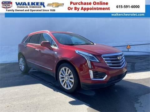 2019 Cadillac XT5 for sale at WALKER CHEVROLET in Franklin TN