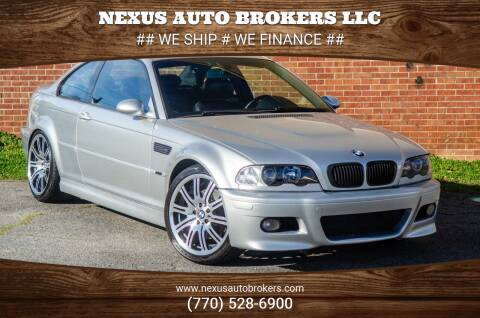 2004 BMW M3 for sale at Nexus Auto Brokers LLC in Marietta GA
