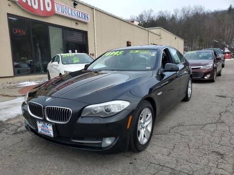 2013 BMW 5 Series for sale at Auto Wholesalers Of Hooksett in Hooksett NH