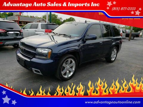 2008 Chevrolet TrailBlazer for sale at Advantage Auto Sales & Imports Inc in Loves Park IL