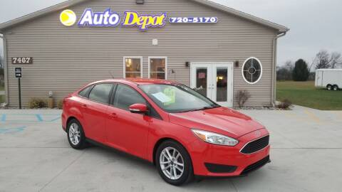 2016 Ford Focus for sale at The Auto Depot in Mount Morris MI