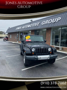 2009 Jeep Wrangler for sale at Jones Automotive Group in Jacksonville NC