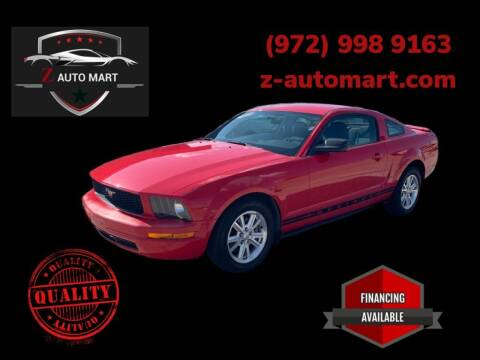 2008 Ford Mustang for sale at Z AUTO MART in Lewisville TX