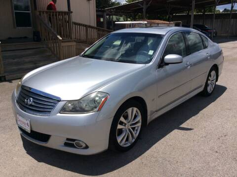 2010 Infiniti M35 for sale at OASIS PARK & SELL in Spring TX