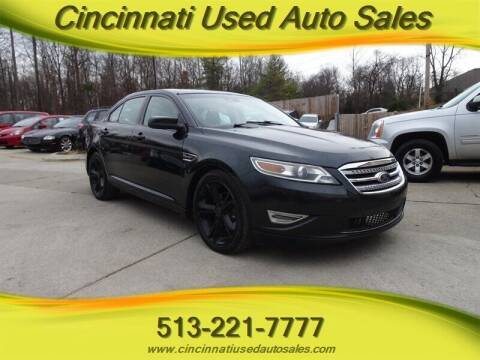 2010 Ford Taurus for sale at Cincinnati Used Auto Sales in Cincinnati OH