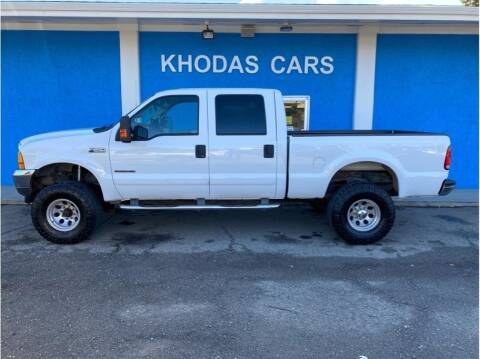 2001 Ford F-250 Super Duty for sale at Khodas Cars in Gilroy CA