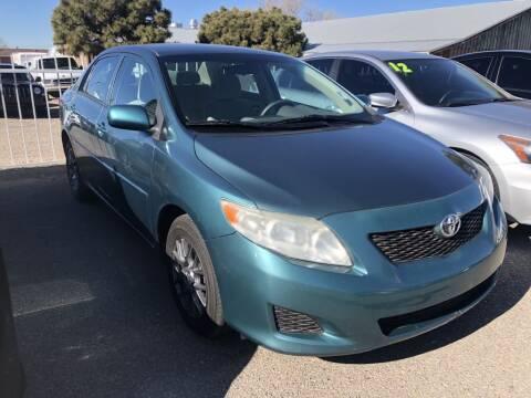 2010 Toyota Corolla for sale at Top Gun Auto Sales, LLC in Albuquerque NM