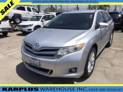 2013 Toyota Venza for sale at Karplus Warehouse in Pacoima CA
