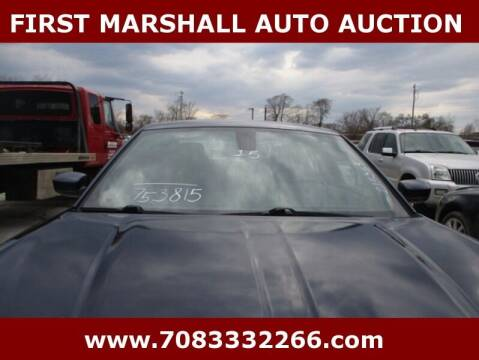 2015 Dodge Charger for sale at First Marshall Auto Auction in Harvey IL
